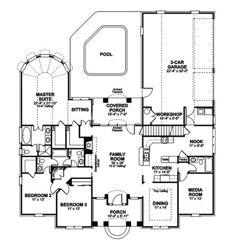 traditional floor plans yates traditional home plan 013d 0051 house plans and more