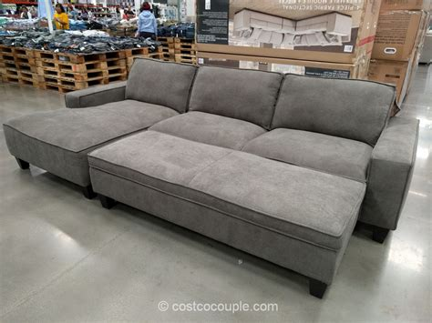 sectional sleeper sofa costco sectional sofa with chaise costco fabric sofas sectionals