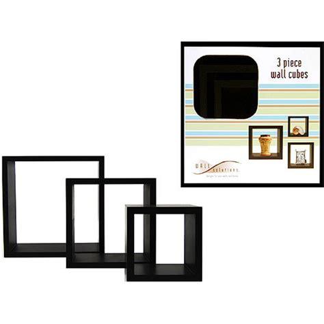 wall shelves at walmart 3 wall cube shelves black walmart