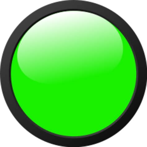 green light px green light icon free images at clker vector