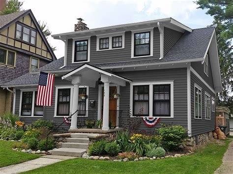 houses painted gray exterior paint colors consulting for houses sle