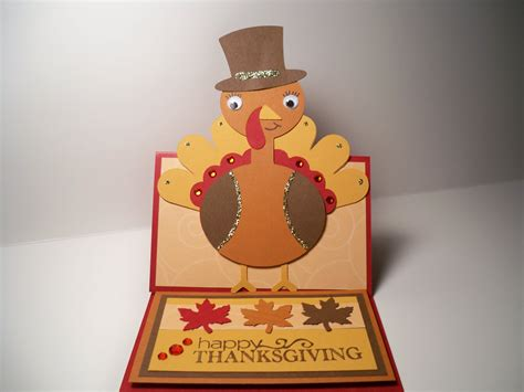 Card Creations More By C Thanksgiving Card Turkey