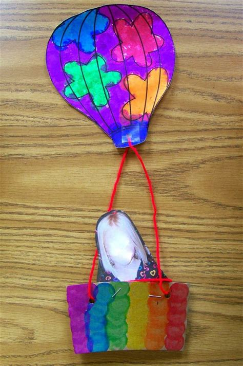 balloon crafts for air balloon craft k4