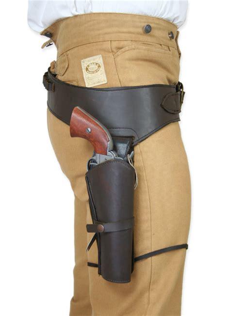 leather gun belt and holster 44 45 cal western gun belt and holster rh draw brown leather