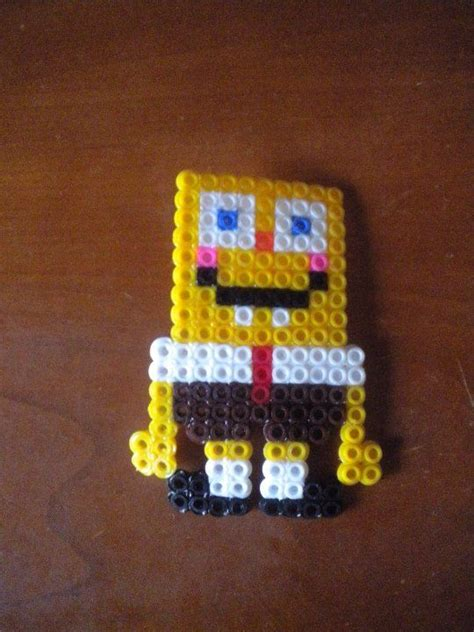 spongebob perler 486 best images about perler hama fusion on
