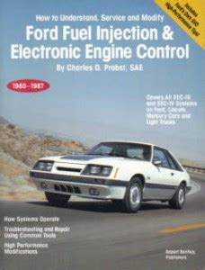 service and repair manuals 1987 ford taurus electronic toll collection ford fuel injection electronic engine control manual 1980 1987