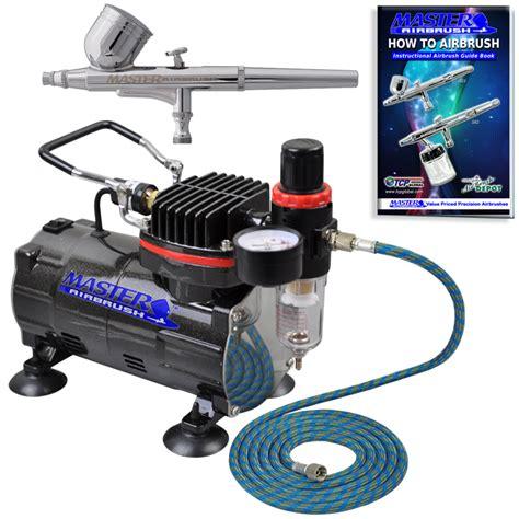 spray painting compressor gravity dual airbrush kit set air compressor spray