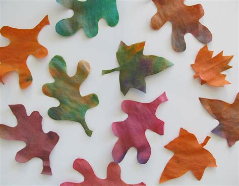 crafts for with leaves fall leaves craft ideas activities