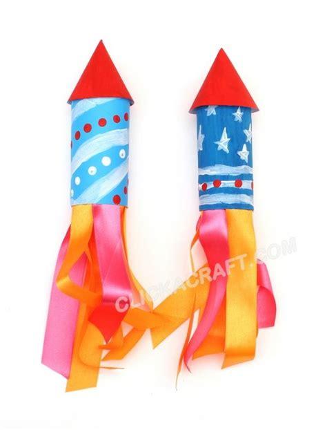 rocket crafts for cardboard toilet paper roll rockets for fireworks craft