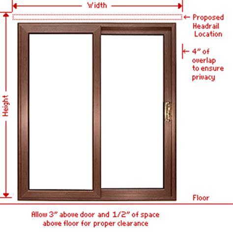 patio door measurements blindden classic vinyl vertical blinds custom sizes 3