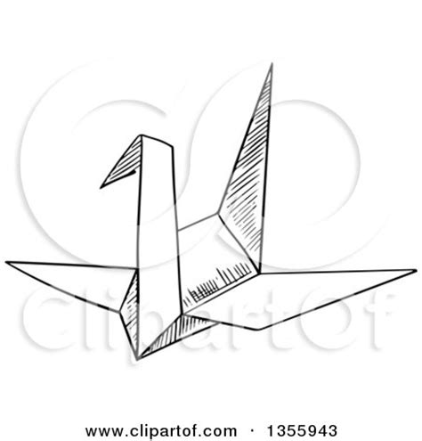 how to write origami in japanese clipart of a black and white sketched sacred gate torii