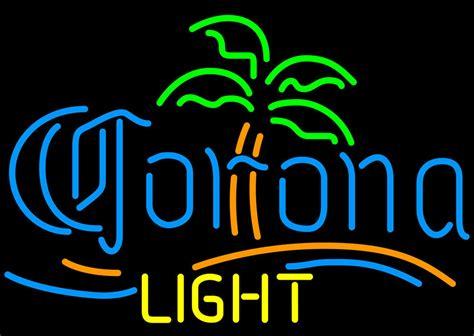 corona palm tree lights corona light palm tree neon sign neon
