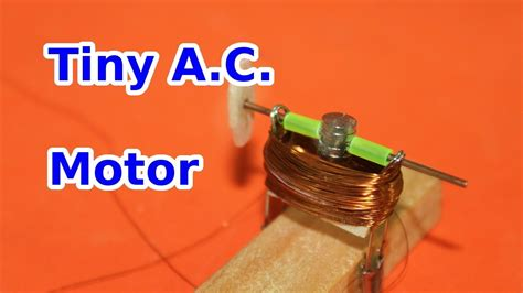 Tiny Electric Motor by Tiny A C Electric Motor