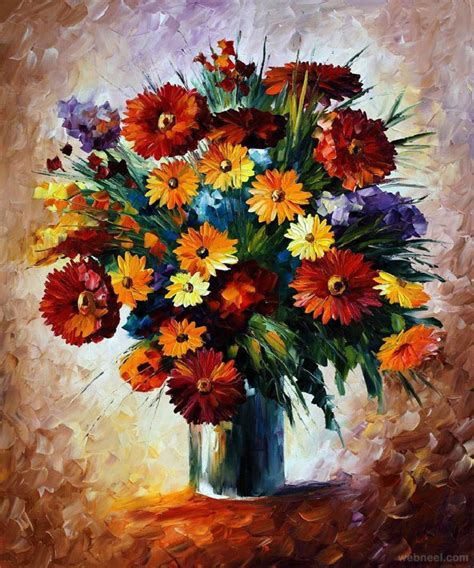 flower painting pictures 40 beautiful and realistic flower paintings for your