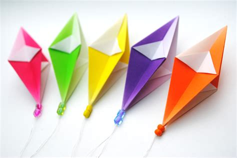 origami paper kites colorful origami from www origami 2016