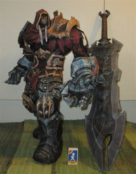 amazing paper craft darksiders amazing papercraft statues by delirium