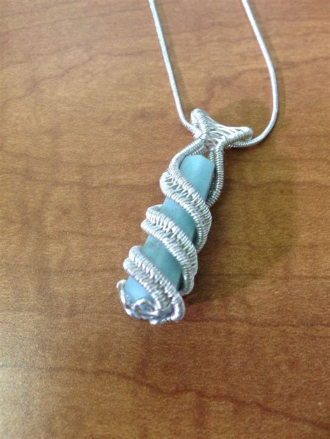 how to make jewelry with wire and stones amazonite wire wrapped pendant wire wrapped