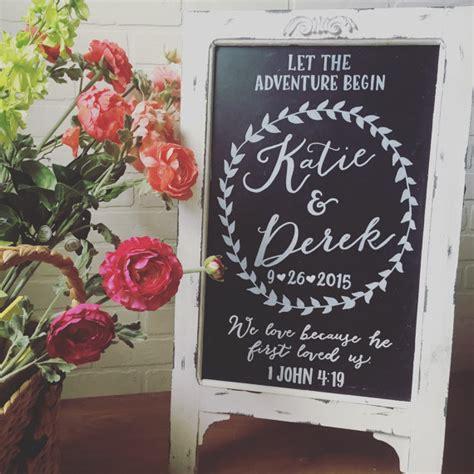 chalkboard diy wedding wedding chalkboard easel chalkboard sign wedding sandwich