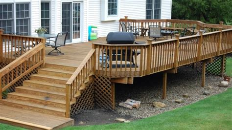 Outdoor Bench With Storage Plans by Back Yard Kitchen Ideas Outdoor Wood Deck Designs Ideas