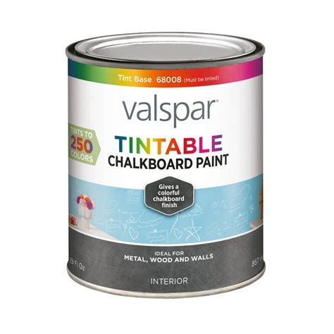 chalkboard paint vs flat paint shop valspar tintable chalkboard paint actual net