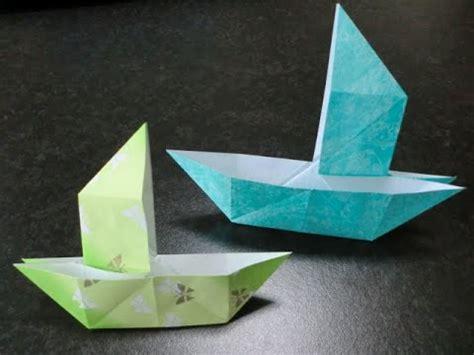 origami magic trick だまし舟 折り紙の折り方origami trick ship doovi