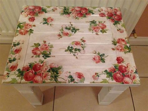 decoupage tabletop ideas decoupage table decopatch ideas