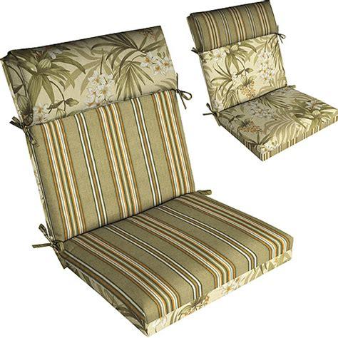 patio chair cushions walmart kingsbury stripe twilight pillow top outdoor chair cushion