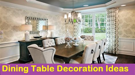 dining decoration dining table decoration ideas