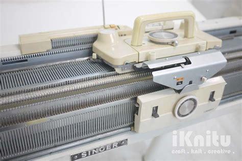 singer knitting machine iknitu singer ribber bed knitting machine
