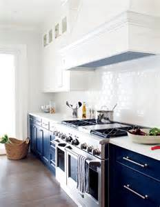 white and blue kitchen cabinets a moment navy and white kitchen cabinets