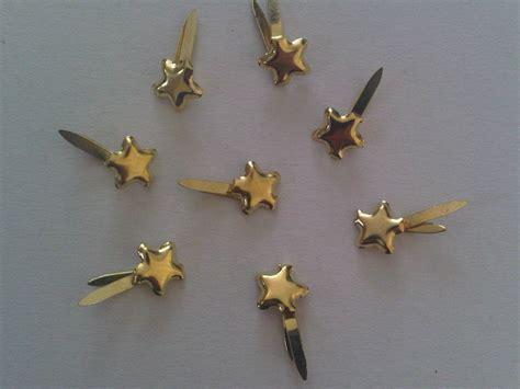 paper fastener crafts 100 mini gold studs paper fasteners for craft