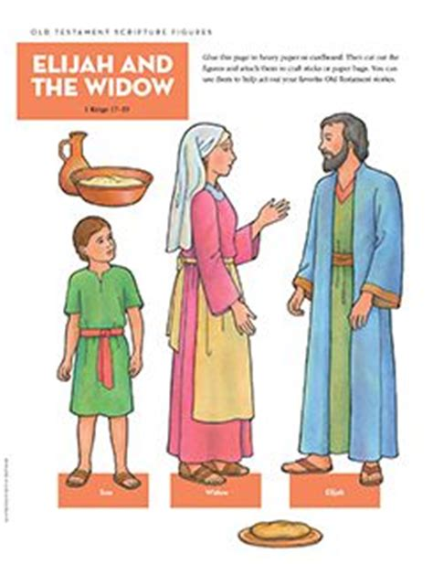 elijah and the widow crafts for scriptures flannel boards and testament on