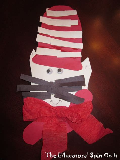 cat in the hat crafts for 30 ideas for a dr seuss theme crafts activities and