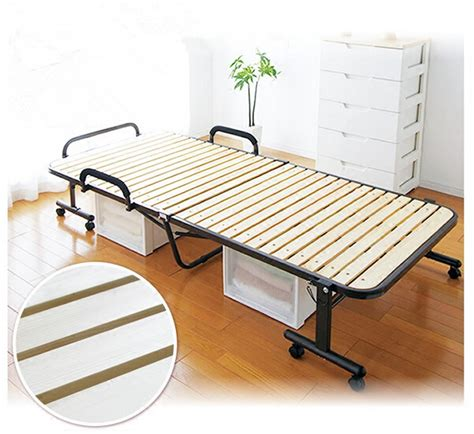 folding platform bed frame japanese tatami metal folding bed frame with caters