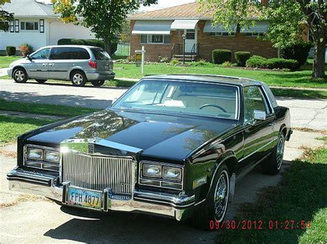85 Cadillac Eldorado For Sale by 1985 Cadillac Eldorado Biarritz For Sale Brookpark Ohio