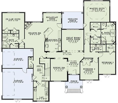 house plans with inlaw suites impressive home plans with inlaw suites 8 house with in suite floor plans smalltowndjs