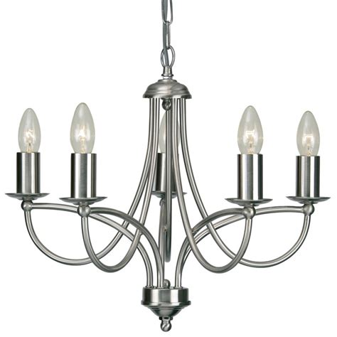 chandelier chrome 2711 5ac loop 5 light chandelier in antique chrome