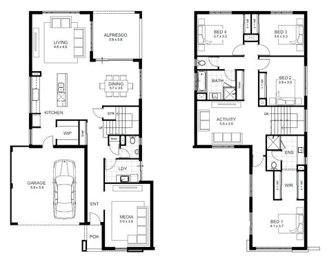 2 story house floor plans two storey house design and floor plan bestsciaticatreatments