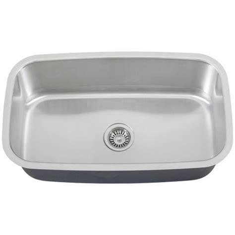 undermount single bowl kitchen sink ticor s112 undermount stainless steel single bowl kitchen sink