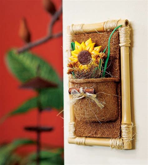 bamboo crafts for bamboo craft ideas for home decor easy arts and crafts ideas