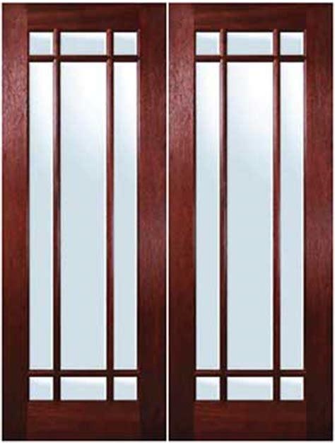 9 light exterior door mahogany exterior doors marginal 9 lite door