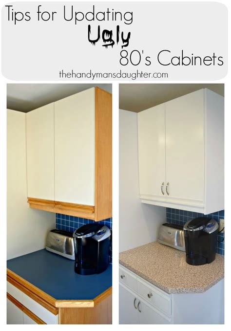 ideas for updating kitchen cabinets tips for updating 80 s kitchen cabinets the handyman s