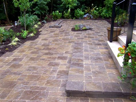 patios with pavers lewis landscape services inc beaverton or 97006 angie