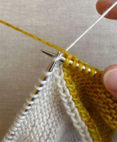 intarsia knitting tutorial intarsia tutorial knitting purl bee baby