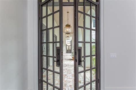 steel patio doors gray steel patio doors with glass panels