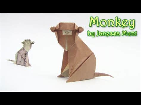 how to make a origami monkey origami monkey money como hacer el mono dinero