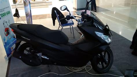 Pcx 2018 Lokal Hitam by Sekilas Honda All New Pcx 150 Hitam Doff