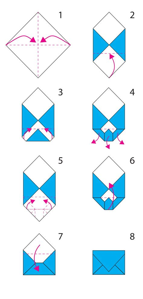 how to make a envelope for a card origami envelope cerca con origami boxes