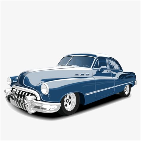Car Vector Wallpaper by Vector Vintage Cars Cars Clipart Classic Cars Blue Png