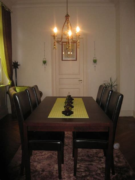 ma salle 224 manger brun et vert anis photo de ma d 233 co pour le 1001 nuits malikamour
